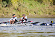 Crew: 30 - Rose / Brecknock - Putney Town Rowing Club - Op MasG/H 2x <br /> <br /> Pairs Head 2020