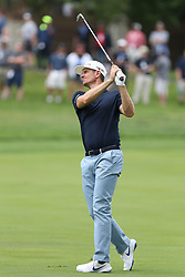 May 30, 2019 - Dublin, OH, U.S. - DUBLIN, OH - MAY 30: Justin Rose of England hits an approach shot during the first round of The Memorial Tournament on May 30th 2019  at Muirfield Village Golf Club in Dublin, OH. (Photo by Ian Johnson/Icon Sportswire) (Credit Image: © Ian Johnson/Icon SMI via ZUMA Press)
