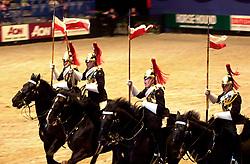 British Open Show Jumping 26th April 2003 evening show at Hallam FM Arena<br />Copyright Paul David Drabble<br /><br />26th April 2003<br /> [#Beginning of Shooting Data Section]<br />Nikon D1 <br /> 2003/04/26 20:05:11.5<br /> JPEG (8-bit) Fine<br /> Image Size:  2000 x 1312<br /> Color<br /> Lens: 80-200mm f/2.8-2.8<br /> Focal Length: 86mm<br /> Exposure Mode: Manual<br /> Metering Mode: Spot<br /> 1/100 sec - f/2.8<br /> Exposure Comp.: 0 EV<br /> Sensitivity: ISO 1600<br /> White Balance: Auto<br /> AF Mode: AF-C<br /> Tone Comp: Normal<br /> Flash Sync Mode: Not Attached<br /> Color Mode: <br /> Hue Adjustment: <br /> Sharpening: Normal<br /> Noise Reduction: <br /> Image Comment: <br /> [#End of Shooting Data Section]