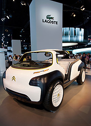 Citroen  Lacoste concept vehicle at Paris Motor Show 2010