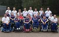 ARNHEM (PAPENDAL) -  Teamfoto Nationale Selectie Rolstoelhockey voor het WK in Italie 2010. COPYRIGHT KOEN SUYK
