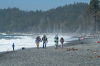 Rialto Beach Backpackers Olympic National Park