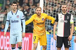 Torino 20191126 : 9 Morata - 13 Jan Oblak - 19 Bonucci UEFA Champions league Group match between Juventus and Atletico Madrid. Torino, Italy, 26.11.2019. Photo Primoz Lovric / Sportida