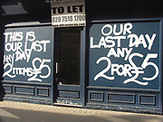 A51PCB Shop closing down sale London England