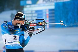 Emilien Jacquelin of France competes during the IBU World Championships Biathlon 15 km Mass start Men competition on February 21, 2021 in Pokljuka, Slovenia. Photo by Vid Ponikvar / Sportida