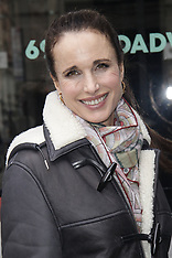 Andie MacDowell At Build Series - 31 March 2018