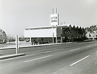 1968 Lytton Savings at Sunset Blvd. & Crescent Heights Blvd. Former site of the Garden of Allah Hotel