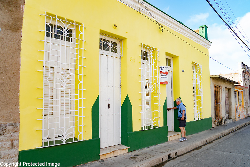 Hostal, Baracoa Cuba 2020 from Santiago to Havana, and in between.  Santiago, Baracoa, Guantanamo, Holguin, Las Tunas, Camaguey, Santi Spiritus, Trinidad, Santa Clara, Cienfuegos, Matanzas, Havana