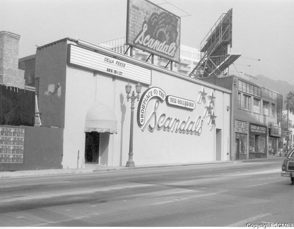 1978 Scandal's on La Brea Ave.