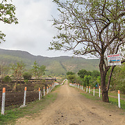 INDIVIDUAL(S) PHOTOGRAPHED: N/A. LOCATION: Ahirwade, Maharashtra, India. CAPTION: Pictured here is a view of Ahirwade, a village in rural Maharashtra.