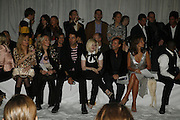 Kelly Osbourne, Julian Macdonald and Isabelle la Brugere DENIS SIMACHEV SHOWCASES AUTUMN/WINTER 06 MENSWEAR & WOMENSWEAR COLLECTIONS<br />