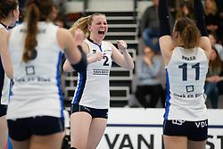 20180331 NED: Eredivisie Sliedrecht Sport - Regio Zwolle, Sliedrecht <br />Brechtje Kraaijvanger (2) of Sliedrecht Sport <br />©2018-FotoHoogendoorn.nl / Pim Waslander