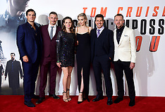 Mission Impossible Fallout Premiere - London 13 July 2018