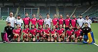 DEN HAAG - .Team van Japan met staff .World Cup Hockey 2014. COPYRIGHT KOEN SUYK