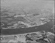 "Ackroyd 11830-2 ""Port of Portland. Aerial high level Rivergate. July 29, 1963"""