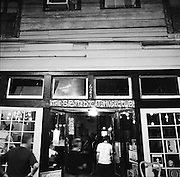 NEW ORLEANS, LA – OCTOBER 28, 2009: Live music is performed at The Spotted Cat Music Club on Frenchmen Steret.