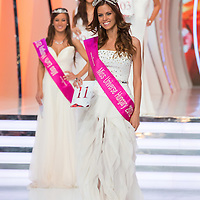 Newly elected Miss Universe Hungary Agnes Konkoly poses after winning a joint beauty contest in Budapest June 9, 2012.