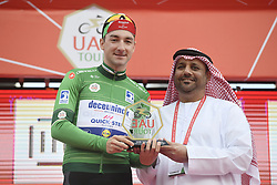 March 2, 2019 - Dubai, Emirati Arabi Uniti, Emirati Arabi Uniti - Foto LaPresse - Fabio Ferrari.02 Marzo 2019 Dubai (Emirati Arabi Uniti).Sport Ciclismo.UAE Tour 2019 - Tappa 7 - da Dubai Safari Park a City Walk - 145 km.Nella foto: durante la gara.VIVIANI Elia(ITA)DECEUNINCK-QUICK-STEP maglia verde..Photo LaPresse - Fabio Ferrari.March 02, 2019 Dubai (United Arab Emirates) .Sport Cycling.UAE Tour 2019 - Stage 7 - From Dubai Safari Park to City Walk  - 90 miles..In the pic: during the race VIVIANI Elia(ITA)DECEUNINCK-QUICK-STEP (Credit Image: © Fabio Ferrari/Lapresse via ZUMA Press)