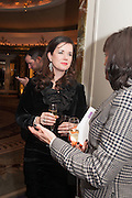 CAROLINE REVMAN-LUSHER; DEBRA CHARLES, Natwest Everywoman awards reception. The Dorchester Hotel. London. 5 December 2012.