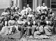 Group portrait of Radcliffe College Class of 1896, Harvard University, America, USA