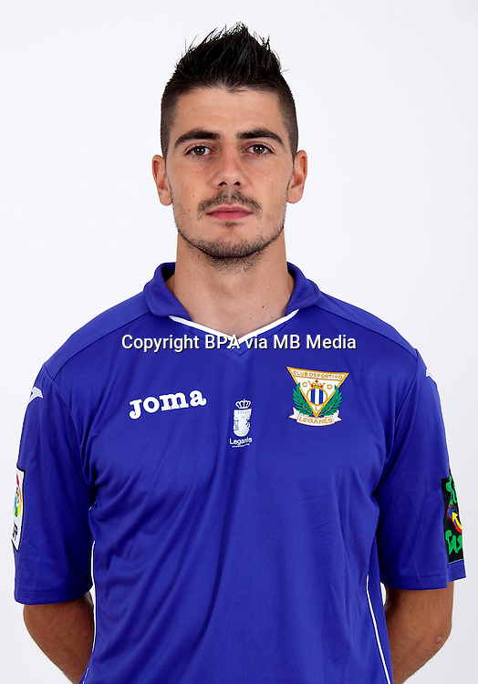 Spain - La Liga Adelante 2015-2016 / <br /> ( C.D. Leganes  ) - <br /> Jon Ander Serantes Simon