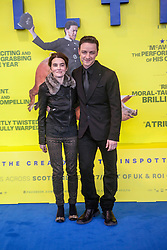 Shirley Henderson and James McAvoy, <br /> Edinburgh hosts the World Premiere of Filth at the Omni cinema.<br /> ©Michael Schofield.
