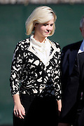 Elizabeth Smart leaves federal court after testifying at a competency hearing for her alleged kidnapper, Brian David Mitchell, Oct. 1 2009, in Salt Lake City. (AP Photo/Colin Braley)