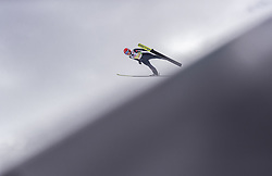 02.03.2019, Seefeld, AUT, FIS Weltmeisterschaften Ski Nordisch, Seefeld 2019, Skisprung, Mixed Team, Probesprung, im Bild Katharina Althaus (GER) // Katharina Althaus of Germany during the trial jump in the mixed team competition in ski jumping of nordic combination of FIS Nordic Ski World Championships 2019. Seefeld, Austria on 2019/03/02. EXPA Pictures © 2019, PhotoCredit: EXPA/ JFK