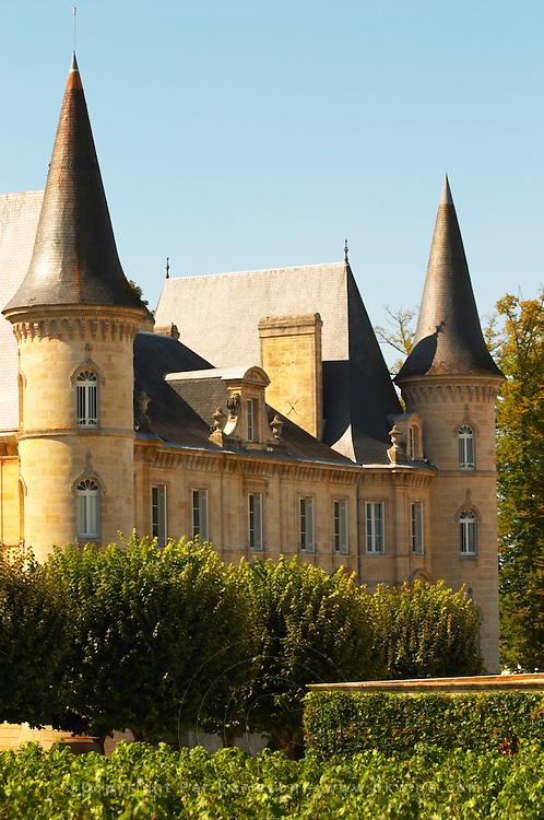 The Chateau Baron Pichon Longueville in Pauillac, Medoc, Bordeaux - Chateau Baron Pichon Longueville, Pauillac, Medoc, Bordeaux, Grand Cru