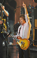 Paul McCartney performs at the Bridgestone Arena in Nashville, Tennessee on Monday, July 26, 2010. (Photo by Frederick Breedon) Photo © Frederick Breedon. All rights reserved. Unauthorized duplication prohibited.