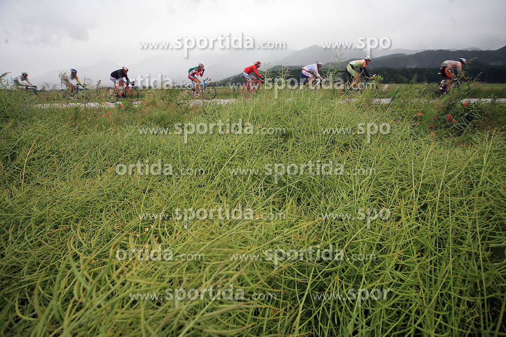 Riders during 3rd stage of the 15th Tour de Slovenie from Skofja Loka to Krvavec (129,5 km), on June 13,2008, Slovenia. (Photo by Vid Ponikvar / Sportal Images)/ Sportida)