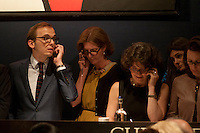 Auctioneers at Christie's during the Impressionists sale in June 2014.