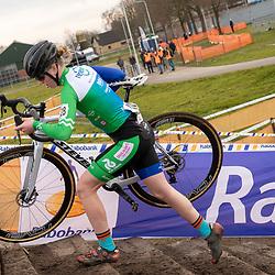 11-01-2020: Wielrennen: NK Veldrijden: Rucphen <br />Nance van der Drift
