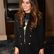 Legha Yusif an Iranian - Lebanese Model and Singer attend the BritAsiaTV Presents Kuflink Punjabi Film Awards 2019 at Grosvenor House, Park Lane, London,United Kingdom. 30 March 2019