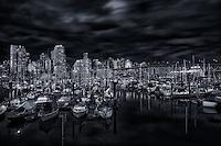 Fishermen's Wharf, False Creek, Vancouver.
