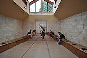 Stuart Landsborough's Puzzling World, Wanaka, New Zealand. the Roman Bathrooms