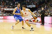 DESCRIZIONE : Milano Eurolega Euroleague 2013-14 EA7 Emporio Armani Milano Real Madrid<br /> GIOCATORE : Alessandro Gentile<br /> CATEGORIA : Palleggio<br /> SQUADRA : EA7 Emporio Armani Milano<br /> EVENTO : Eurolega Euroleague 2013-2014<br /> GARA : EA7 Emporio Armani Milano Real Madrid<br /> DATA : 05/12/2013<br /> SPORT : Pallacanestro <br /> AUTORE : Agenzia Ciamillo-Castoria/G.Cottini<br /> Galleria : Eurolega Euroleague 2013-2014  <br /> Fotonotizia : Milano Eurolega Euroleague 2013-14 EA7 Emporio Armani Milano Real Madrid<br /> Predefinita :