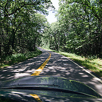 Driving along Maine State Road 32