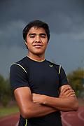 Suri en el Jardin del Arte en Puebla para Runners World