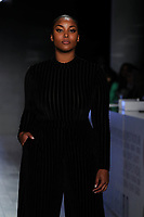 A model walks the runway during S by Serena Williams Runway Show Sponsored By Klarna USA on September 10, 2019 in New York City