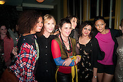 Neneh Cherry, Trudie Styler, Eve Ensler, Lauren Prakke, Meera Syal, Thandie Newton;MyAnna Buring, Party after the opening of  A Memory, A Monologue, A Rant, and A Prayer  at Century Club.  Restless Buddha's fundraising event helping women around the world. All proceeds raised from the sale of tickets go to Women for Women International, V-Day and Domestic Violence Intervention Project. 26 March 2012