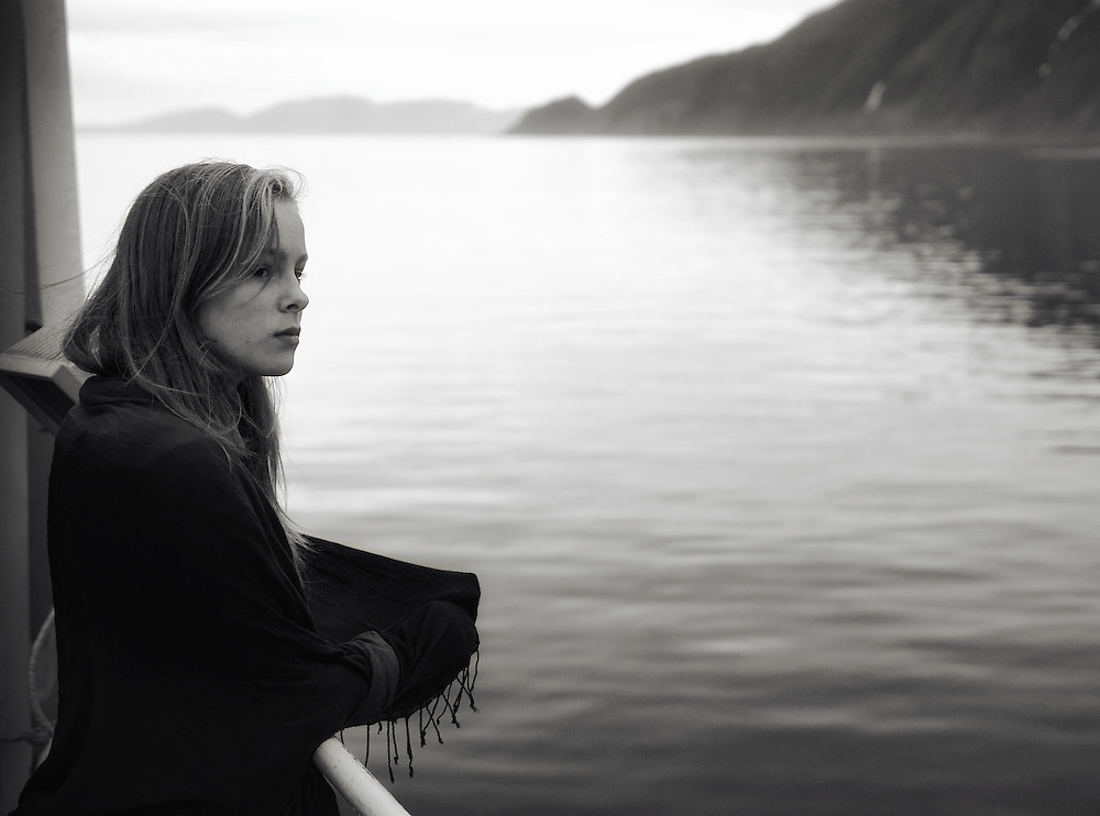 Norway - Girl on ferry