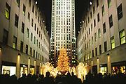 Christmas, Rockefeller Center, Manhattan, New York