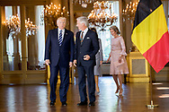 Amsterdam  , 23-05-2017 <br /> <br /> King Filip and Queen Mathilde meet USA President Donald Trump and his wife Melania at The Royal Palace of Brussels.<br /> .<br /> <br /> COPYRIGHT: ROYALPORTRAITS EUROPE/ BERNARD RUEBSAMEN