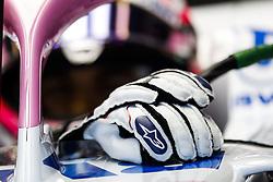 March 23, 2018 - Melbourne, Victoria, Australia - PEREZ Sergio (mex), Force India F1 VJM11, gloves during 2018 Formula 1 championship at Melbourne, Australian Grand Prix, from March 22 To 25 - Photo  Motorsports: FIA Formula One World Championship 2018, Melbourne, Victoria : Motorsports: Formula 1 2018 Rolex  Australian Grand Prix, (Credit Image: © Hoch Zwei via ZUMA Wire)