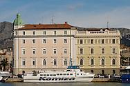 Harbour building, Split, Croatia