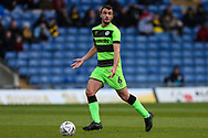 Forest Green Rovers Farrend Rawson(6) during the The FA Cup 1st round match between Oxford United and Forest Green Rovers at the Kassam Stadium, Oxford, England on 10 November 2018.