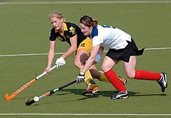 15-05-2005 HOCKEY: DEN BOSCH - HIGHTOWN: EUROPACUP 1: DEN BOSCH<br /> Den Bosch heeft vandaag de finale bereikt van het toernooi om de Europa Cup voor landskampioenen. De Brabantse ploeg deed dat met overmacht: 7-1 tegen het Engelse Hightown / Janneke Schopman<br /> ©2005-WWW.FOTOHOOGENDOORN.NL