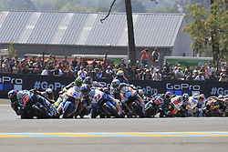 May 20, 2018 - Le Mans, France - 73 ALEX MARQUEZ (ESP) EG 0 0 MARC VDS (BEL) KALEX MOTO2 (Credit Image: © Panoramic via ZUMA Press)