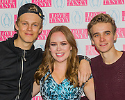 Casper Lee and Joe Suggs - LOVE, TANYA a new book by Tanya Burr and published by Penguin, is launched at Rosewood London. She is is a Beauty, Fashion & Lifestyle Blogger and YouTuber. On her YouTube channel (YouTube.com/TanyaBurr) Tanya delivers makeup tutorials, beauty and style guidance.  The launch will be supported by other vloggers – Zoella, Alfie Deyes, Jim Chapman.